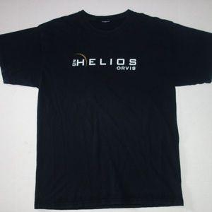 Helios Orvis T Shirt Men L Black Fly Fishing